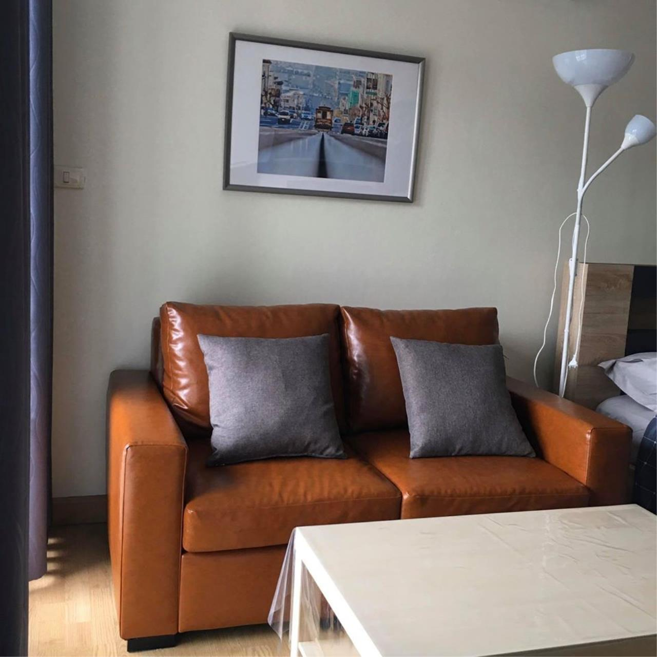 Agent Thawanrat Agency's Condo for rental THE LINK ADVANCE SUKHUMVIT 50 Near BTS. On Nut 1 bedroom,1 bathroom. size 31.5 sqm.Floor 2 nd. fully furnished Ready to move in 10