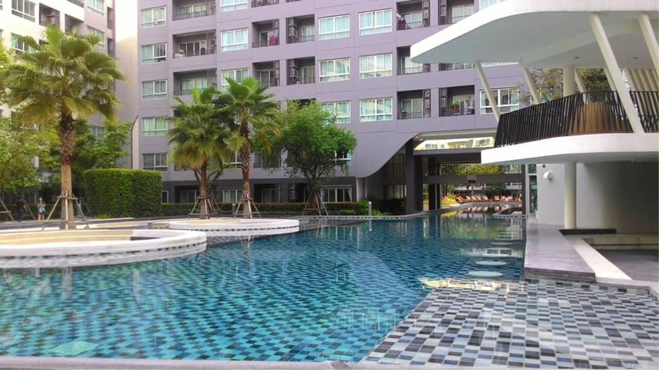 Agent Thawanrat Agency's Condo for rental ELIO DEL RAY Near BTS.Udom Suk 1 bedroom,1 bathroom. size 24 sqm.Floor 3 rd. fully furnished Ready to move in 9