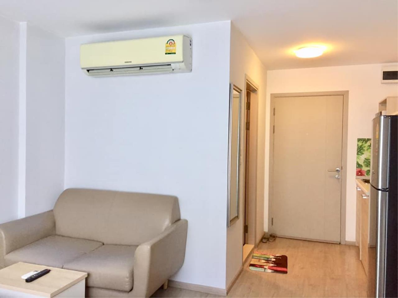 Agent Thawanrat Agency's Condo for rental ELIO DEL RAY Near BTS.Udom Suk 1 bedroom,1 bathroom. size 24 sqm.Floor 3 rd. fully furnished Ready to move in 4