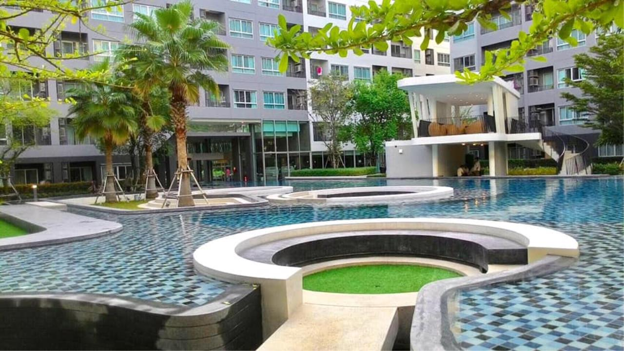Agent Thawanrat Agency's Condo for rental ELIO DEL RAY Near BTS.Udom Suk 1 bedroom,1 bathroom. size 24 sqm.Floor 3 rd. fully furnished Ready to move in 11