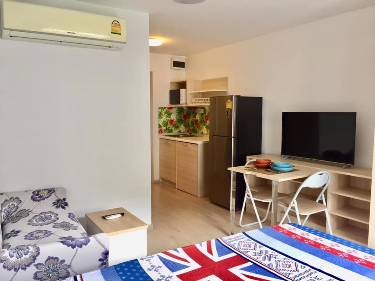 Agent Thawanrat Agency's Condo for rental ELIO DEL RAY Near BTS.Udom Suk 1 bedroom,1 bathroom. size 24 sqm.Floor 3 rd. fully furnished Ready to move in 3