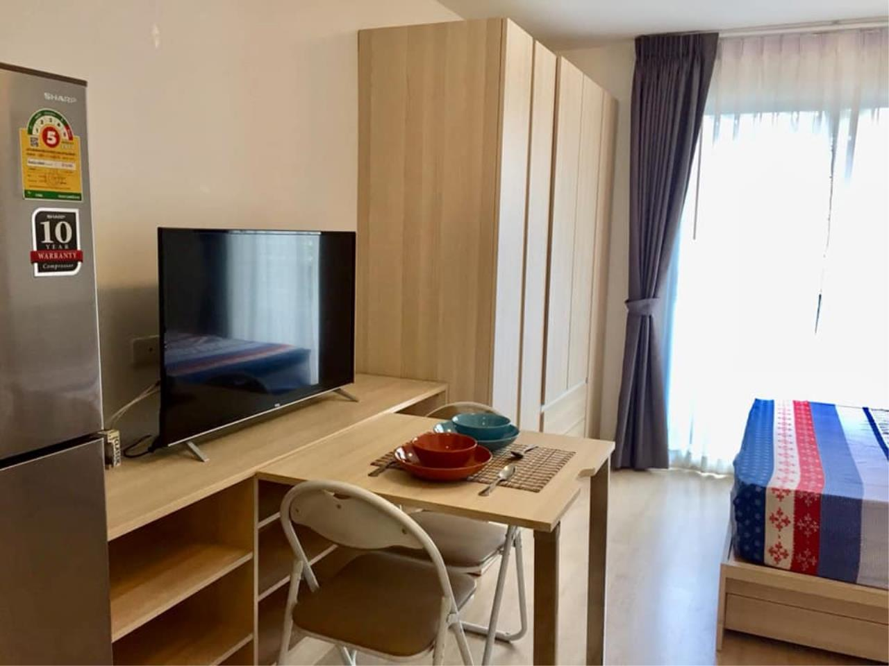 Agent Thawanrat Agency's Condo for rental ELIO DEL RAY Near BTS.Udom Suk 1 bedroom,1 bathroom. size 24 sqm.Floor 3 rd. fully furnished Ready to move in 6