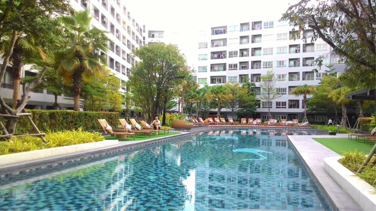 Agent Thawanrat Agency's Condo for rental ELIO DEL RAY Near BTS.Udom Suk 1 bedroom,1 bathroom. size 24 sqm.Floor 3 rd. fully furnished Ready to move in 12