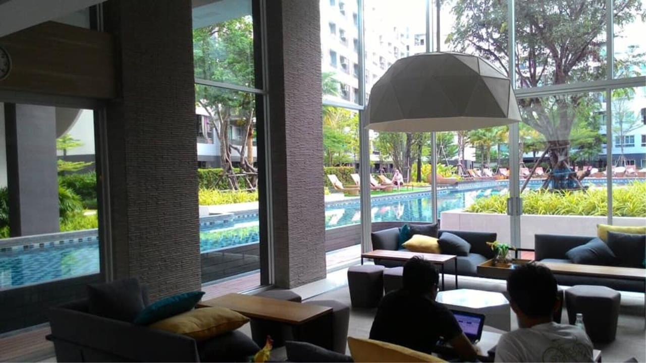 Agent Thawanrat Agency's Condo for rental ELIO DEL RAY Near BTS.Udom Suk 1 bedroom,1 bathroom. size 24 sqm.Floor 3 rd. fully furnished Ready to move in 13