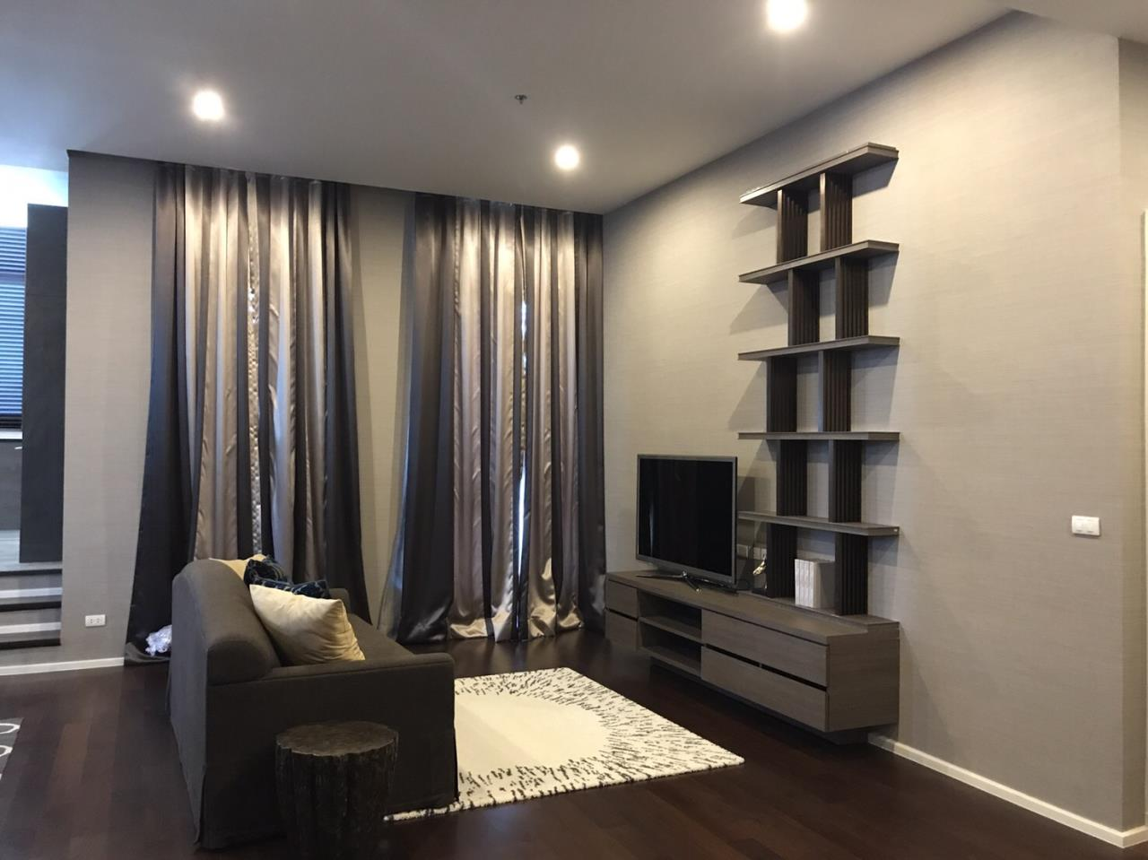 Siam Prop Agency's The Capital Ekamai - Thonglor Condo, 2 bedrooms Penthouse for rent with 4-meter ceiling height 5
