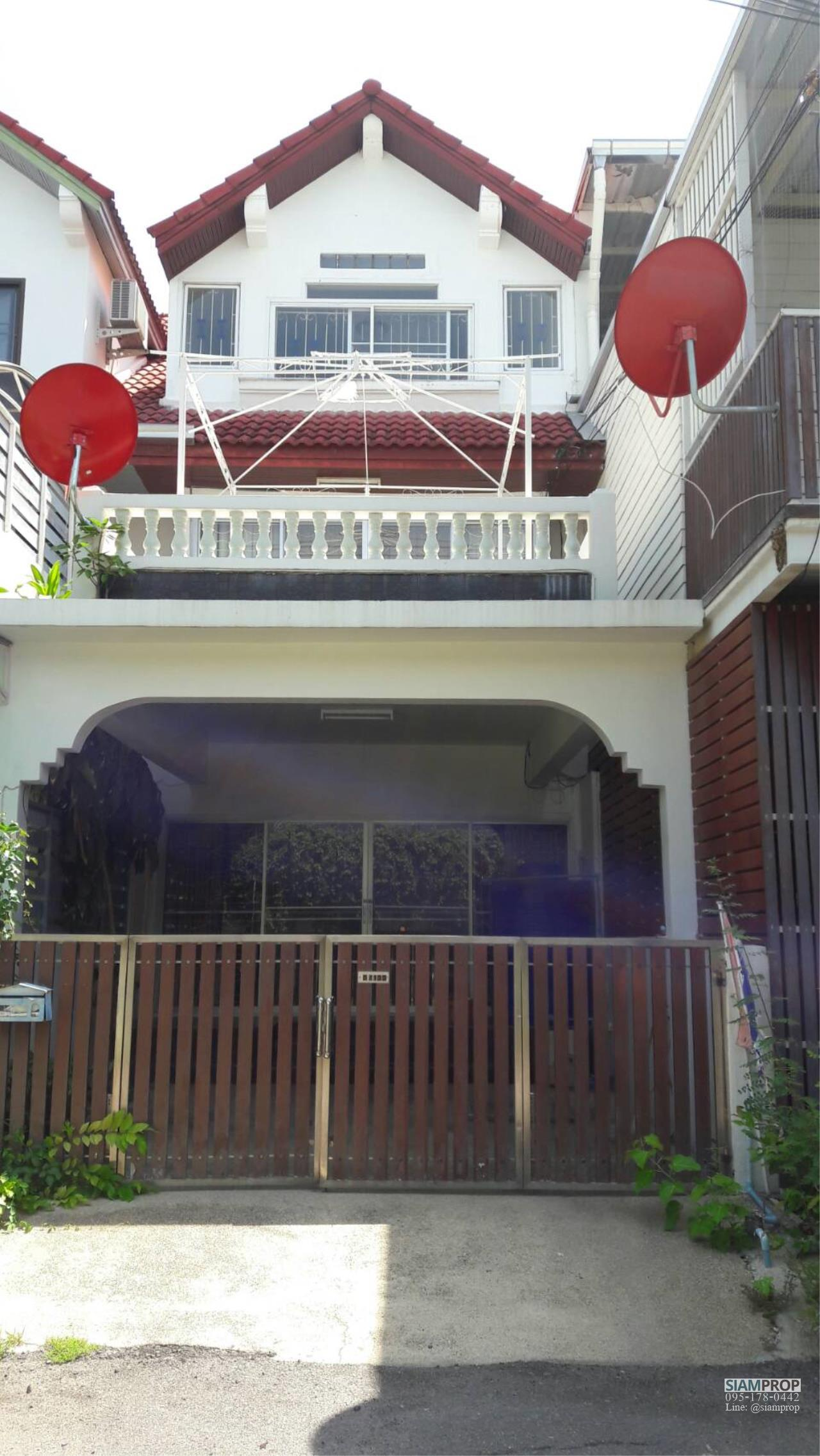 Siam Prop Agency's Sale Townhouse Huahin Nabkahad near the beach 300 M. 2