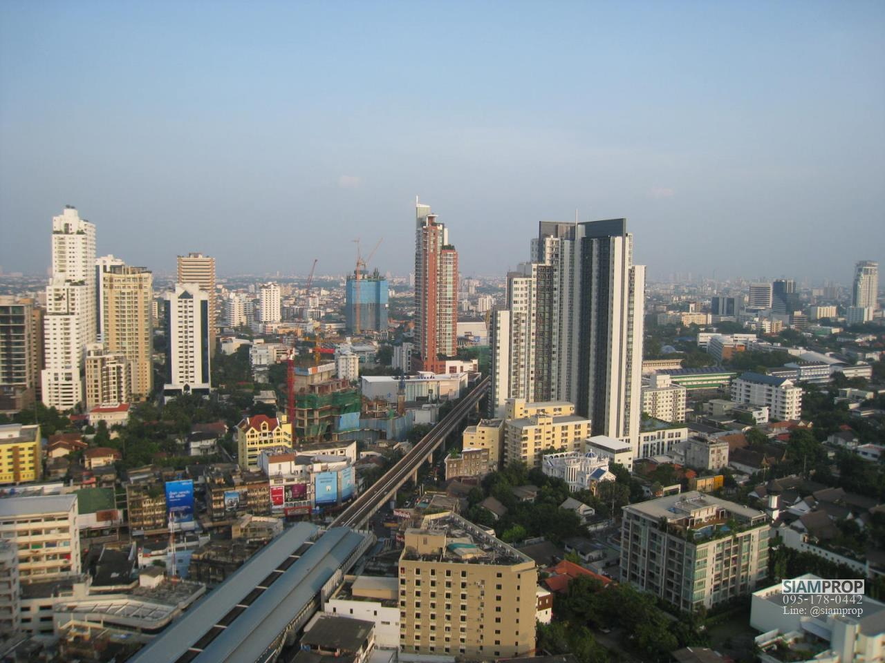Siam Prop Agency's Noble Remix Sukhumvit 36, 2-BR Condo For with Beautiful Panoramic East View - 27th Fl., 60,000 THB/month 7