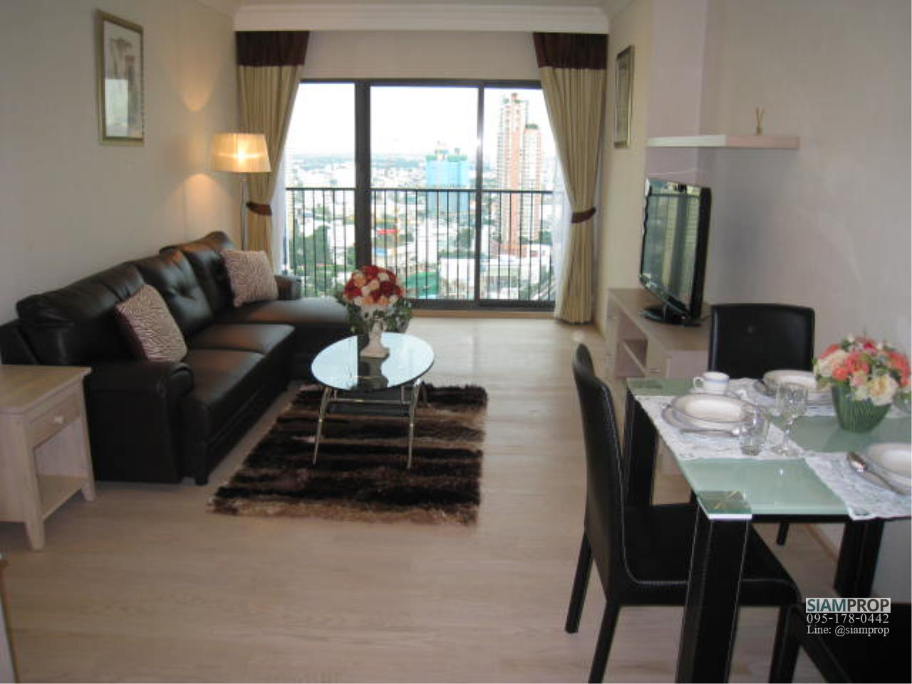 Siam Prop Agency's Noble Remix Sukhumvit 36, 2-BR Condo For with Beautiful Panoramic East View - 27th Fl., 60,000 THB/month 6