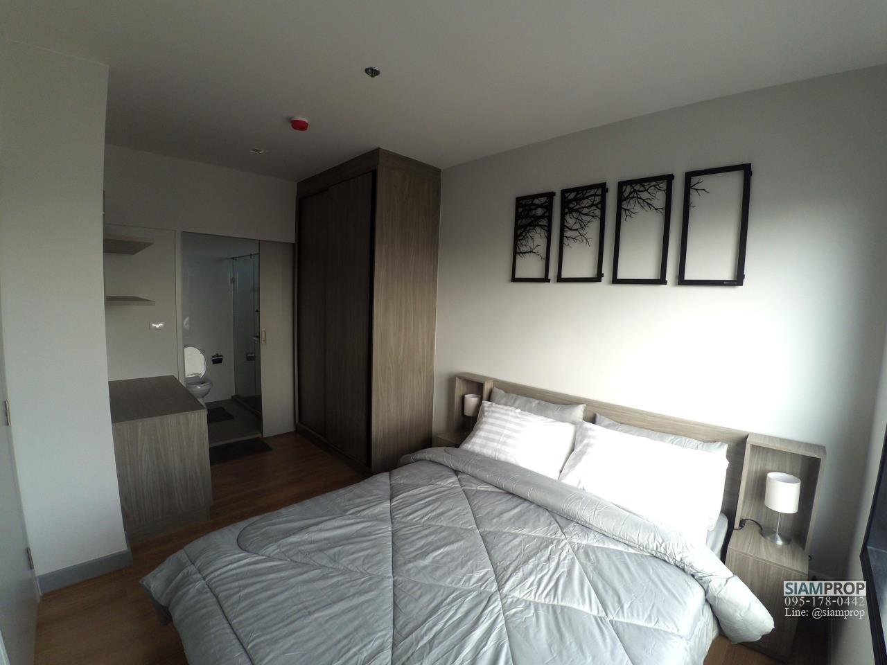 Siam Prop Agency's 1 Bedroom at ChapterOne Midtown for Rent, 100 m. to Ladprao MRT Station. 18,000 Baht Only 4