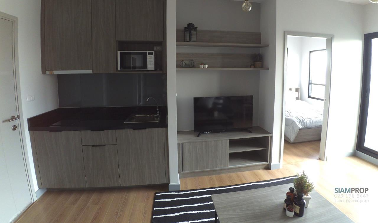 Siam Prop Agency's 1 Bedroom at ChapterOne Midtown for Rent, 100 m. to Ladprao MRT Station. 18,000 Baht Only 2