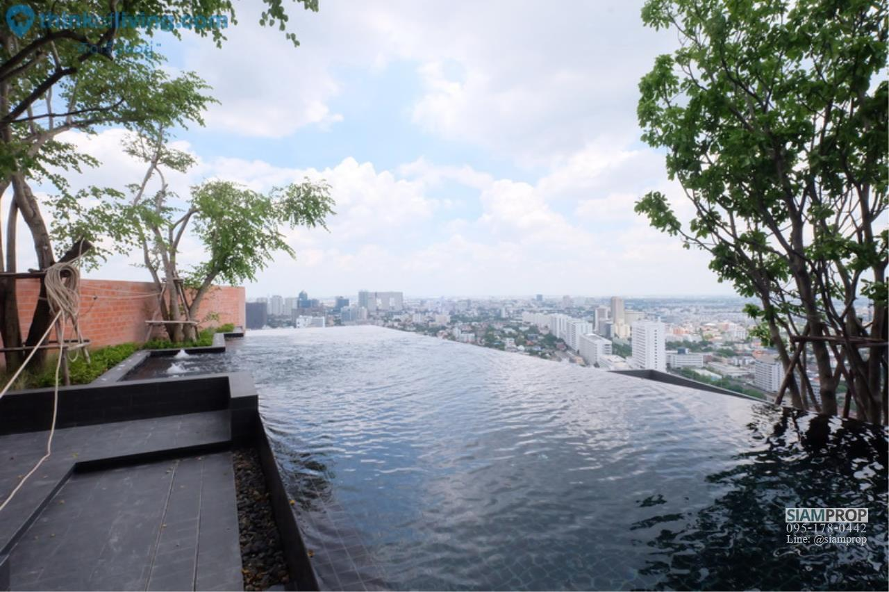 Siam Prop Agency's 1 Bedroom at ChapterOne Midtown for Rent, 100 m. to Ladprao MRT Station. 18,000 Baht Only 15