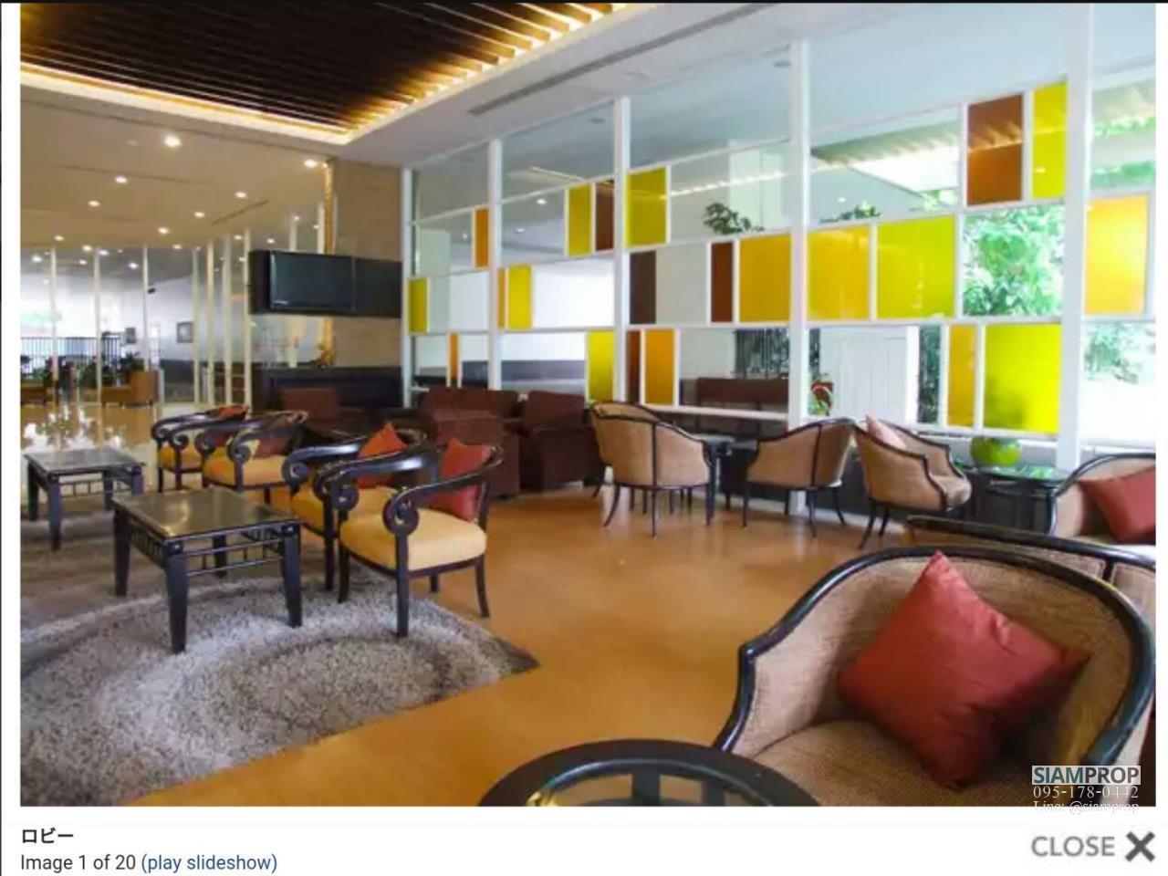 Siam Prop Agency's City Resort Sukhumvit 49  For Rent 8
