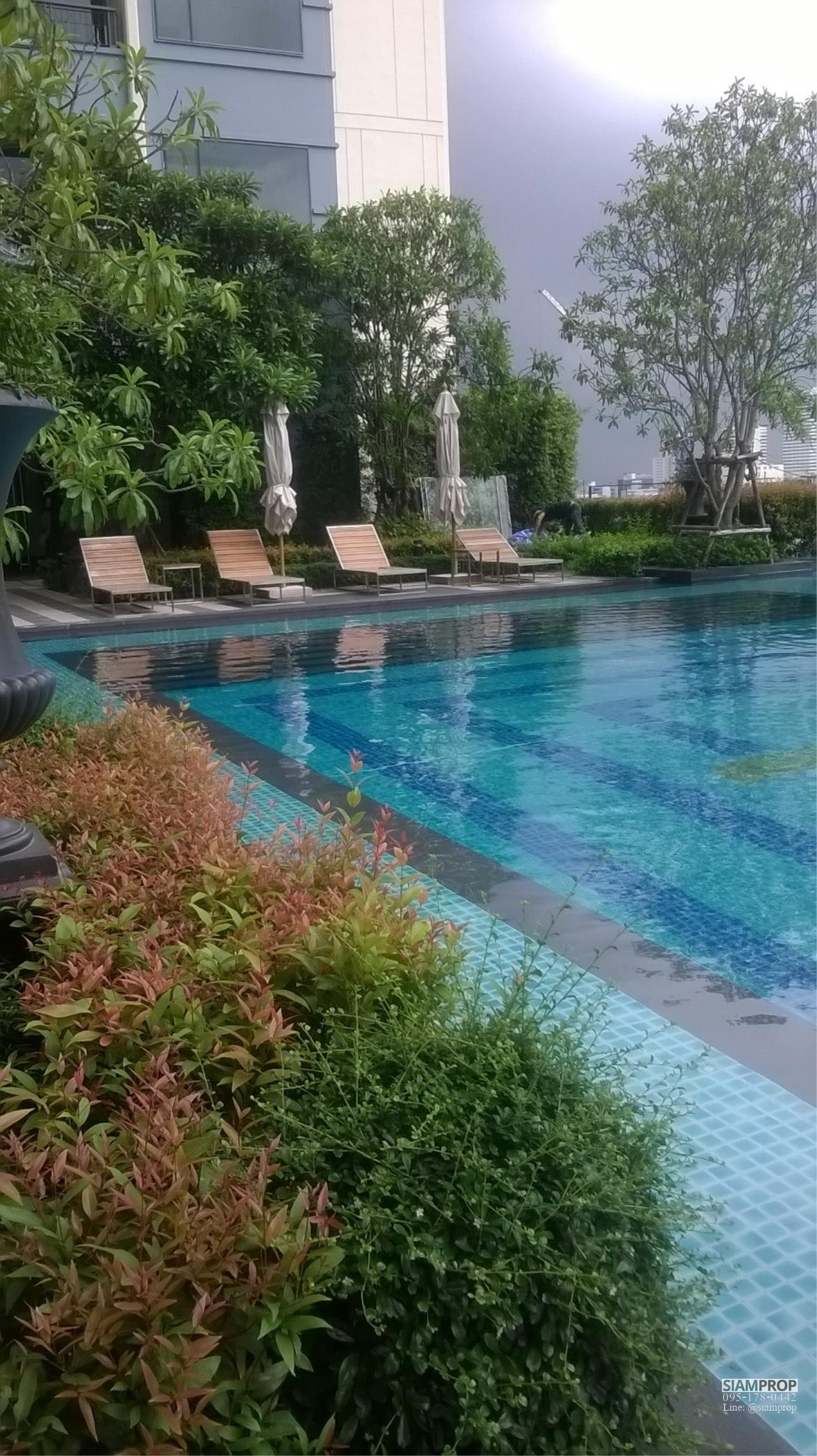 Siam Prop Agency's Q Condo Asoke, 2 beds For Rent 45,000 THB or Sell 15 M  10