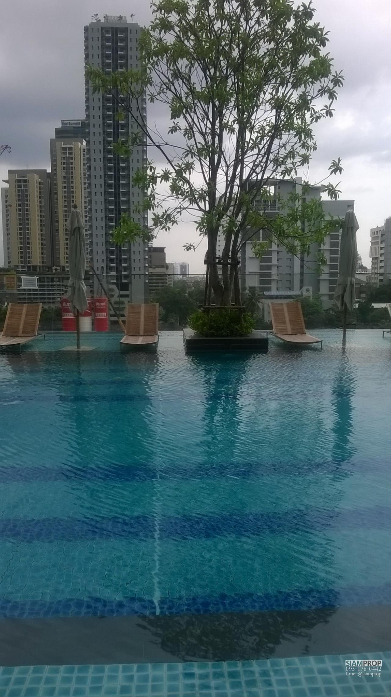 Siam Prop Agency's Q Condo Asoke, 1 bed For Rent 35,000 THB or Sell 12 M  9