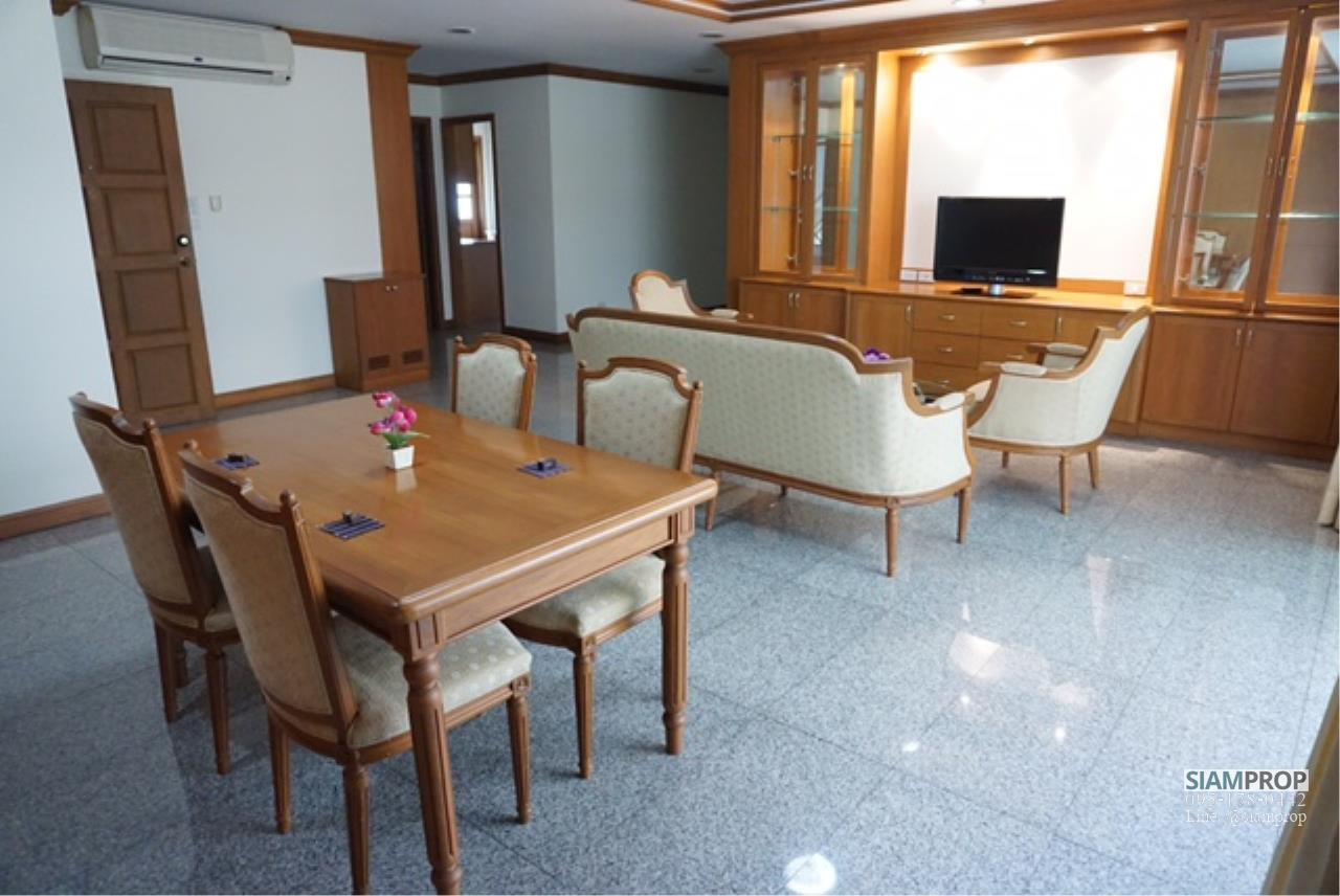 Siam Prop Agency's BIG APARTMENT AT SUKHUMVIT 31 FOR RENT 2 Beds and 3 Baths WITH 240 SQM - 55,000 BAHT 4
