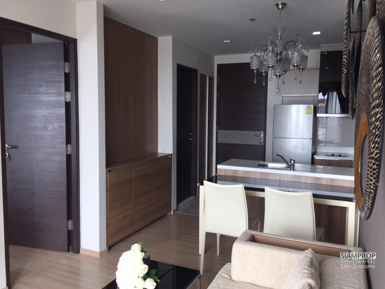 Siam Prop Agency's Rhythm Sathorn 21, nice 1 bed for rent  2