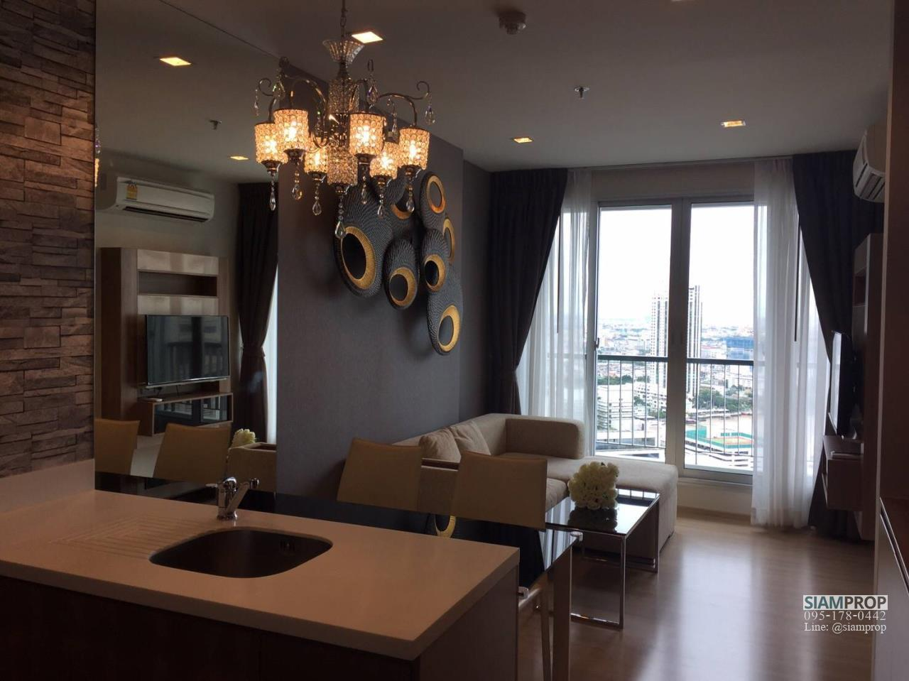 Siam Prop Agency's Rhythm Sathorn 21, nice 1 bed for rent  7