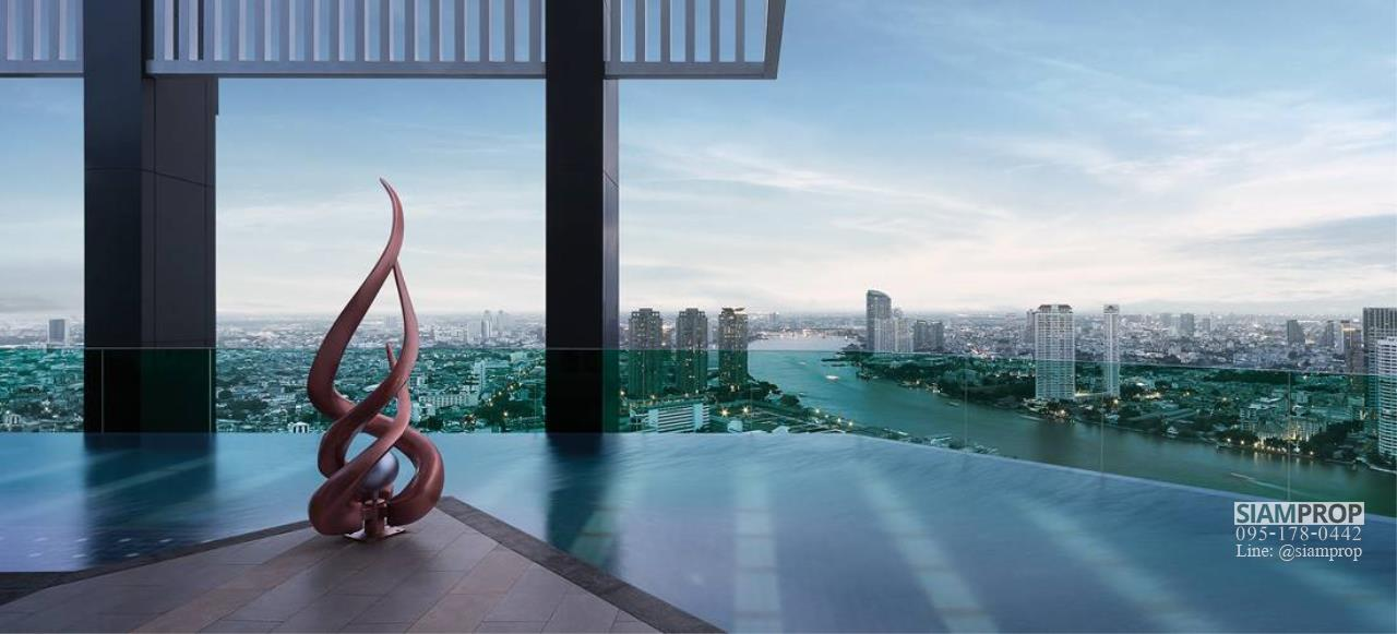 Siam Prop Agency's Rhythm Sathorn 21, nice 1 bed for rent  9