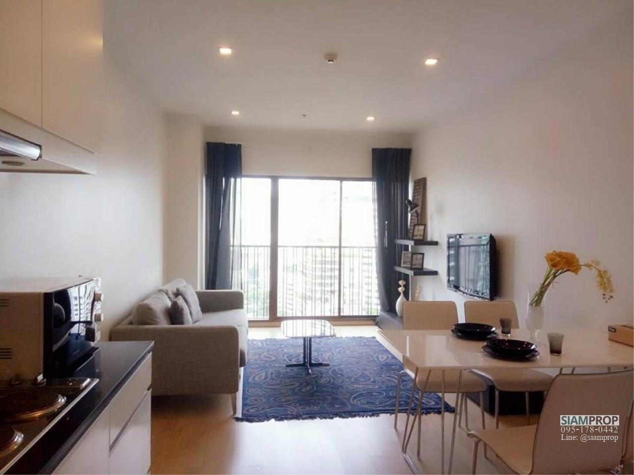 Siam Prop Agency's Noble Refine Sukhumvit 26, 2 bedrooms for rent  1