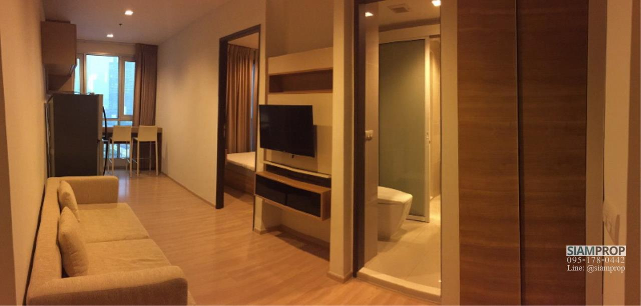 Siam Prop Agency's Rhythm Sathorn 21, nice 1 bed for Rent (close to BTS Surasak) 3