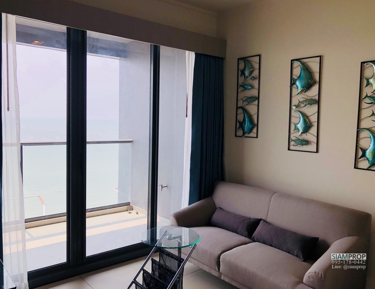 Siam Prop Agency's For Rent Zire Wongamat - 15th floor (Sea View) 2