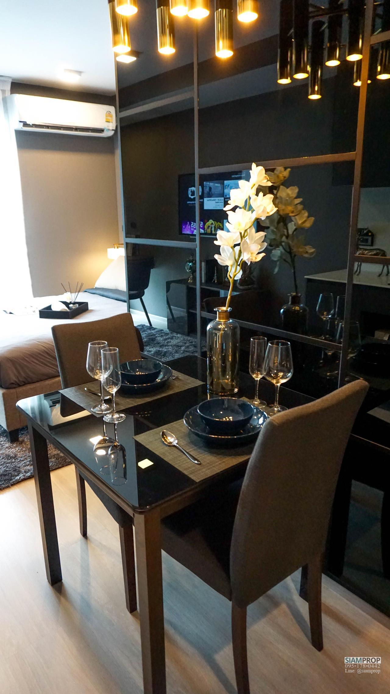 Siam Prop Agency's Venio Sukhumvit 10 , nice studio for rent 5