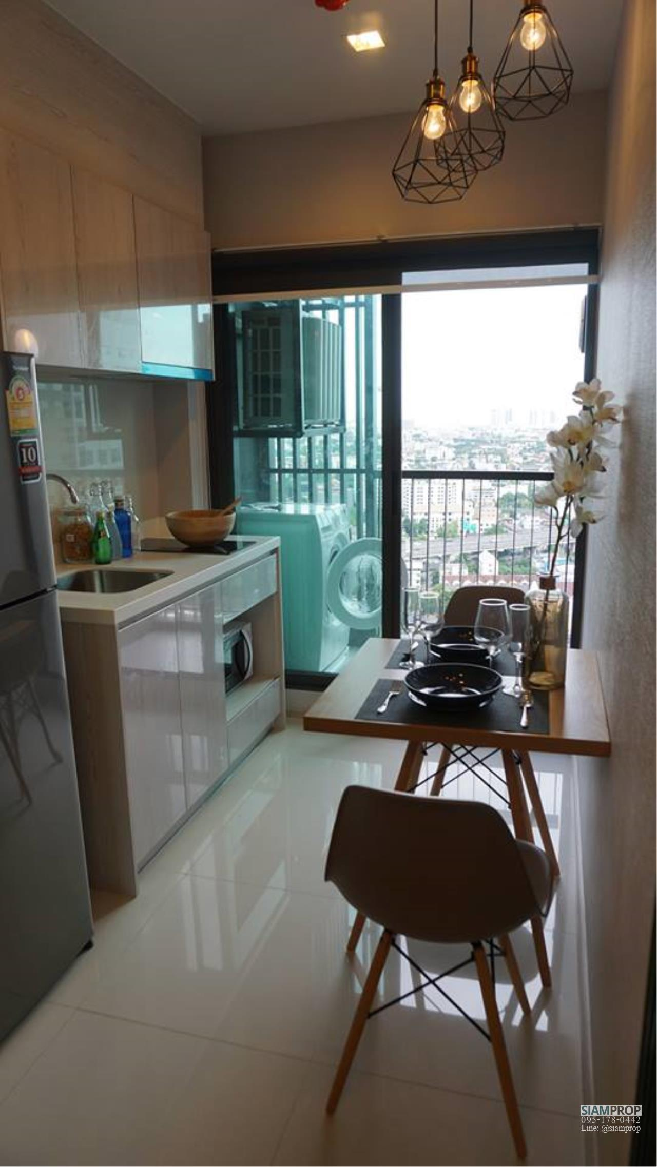 Siam Prop Agency's Life Sukhumvit 48 , 1 bed for rent high floor 6