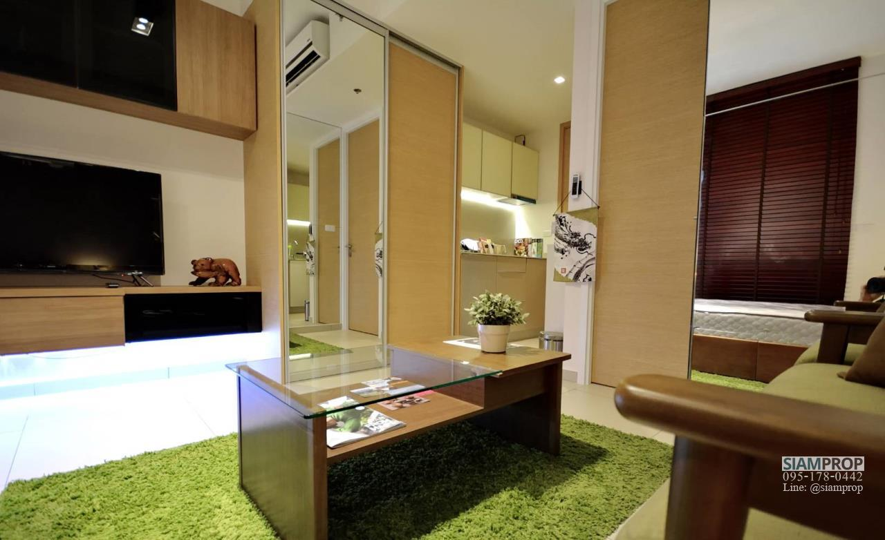Siam Prop Agency's The Lofts Ekamai, Nice  studio for rent very close to BTS 3