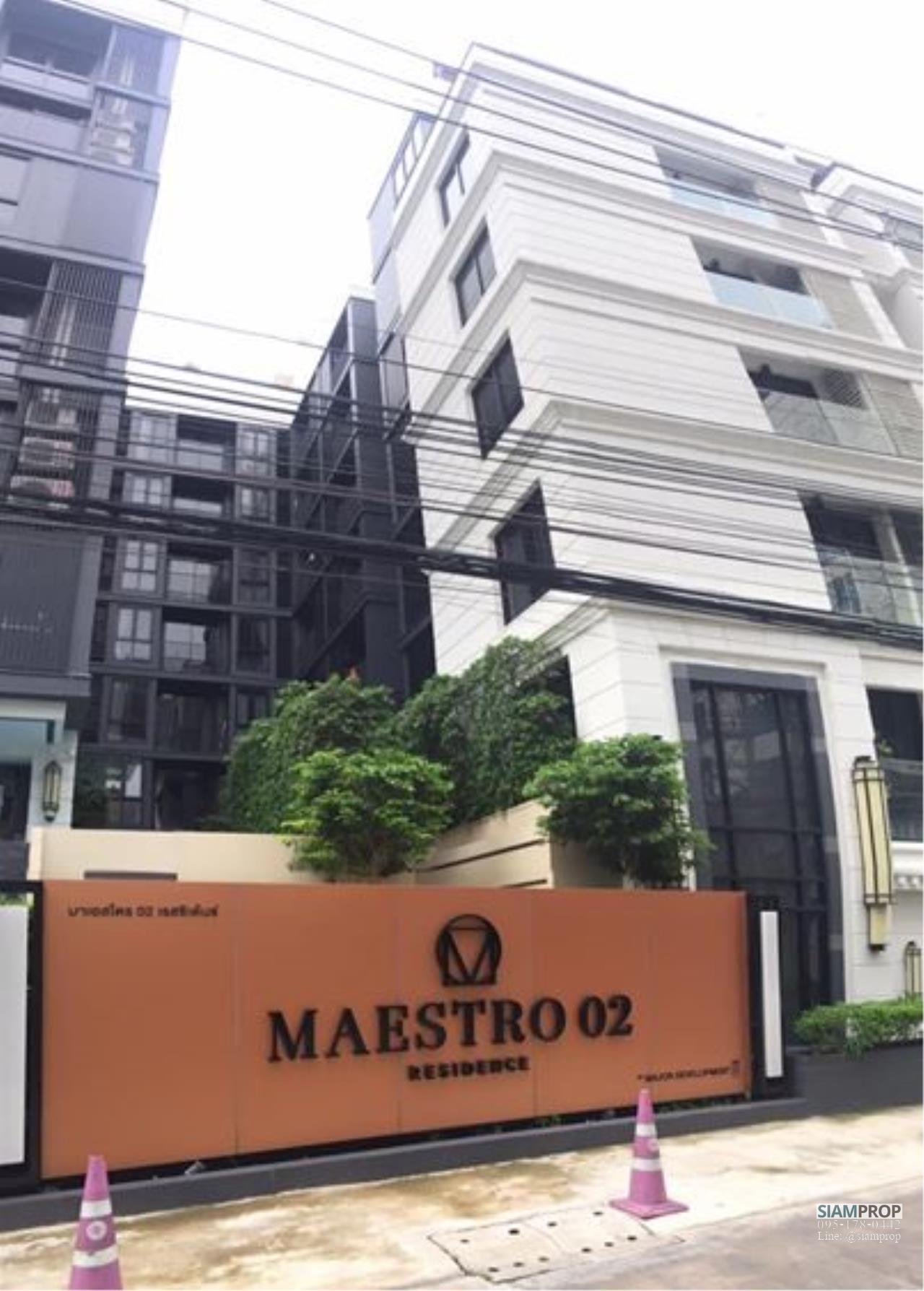 Siam Prop Agency's Maestro02  Ruamrudee 2 near BTS Pleonchit 8