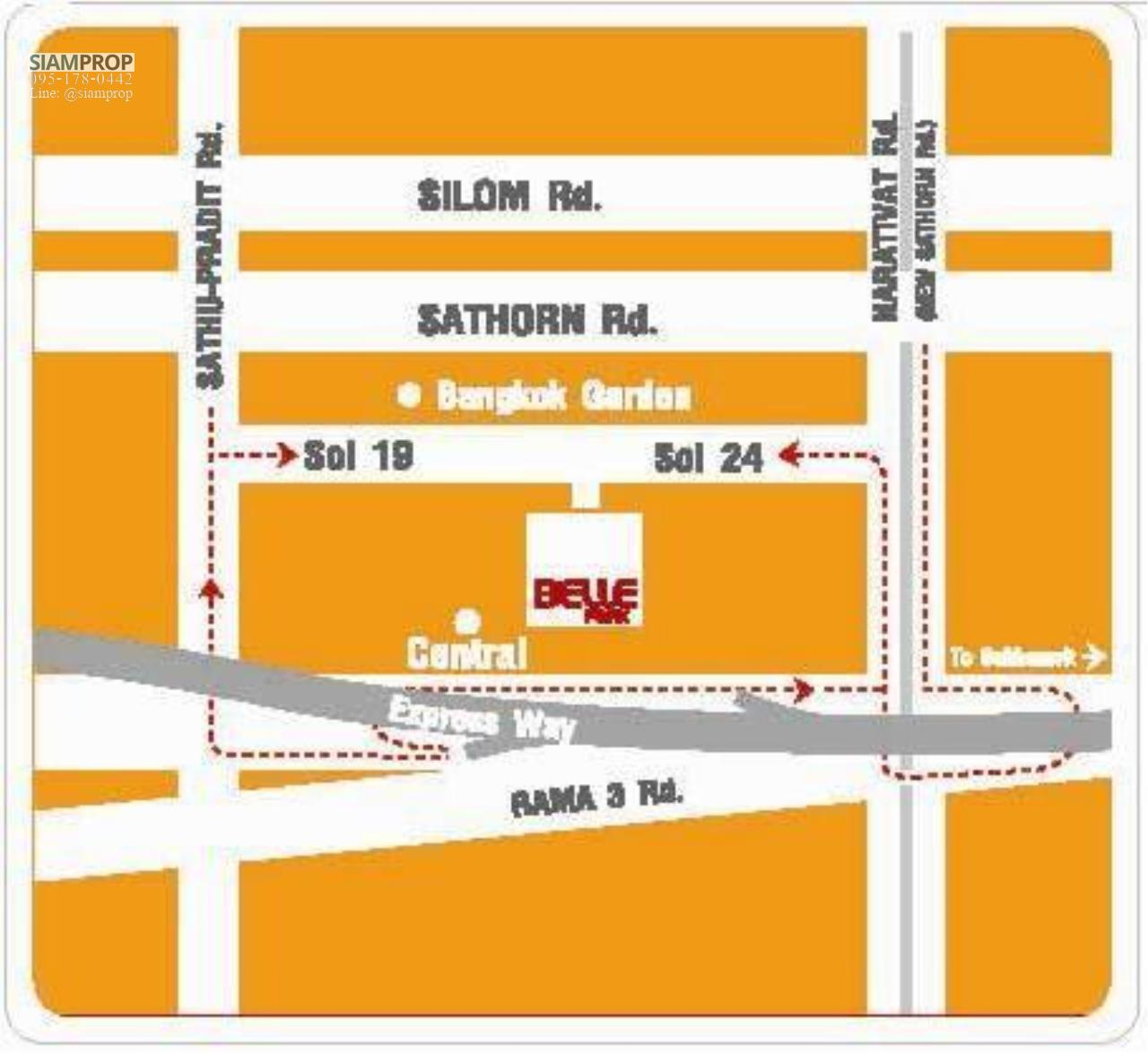 Siam Prop Agency's Bell Park Condo - Narathiwas 24 16