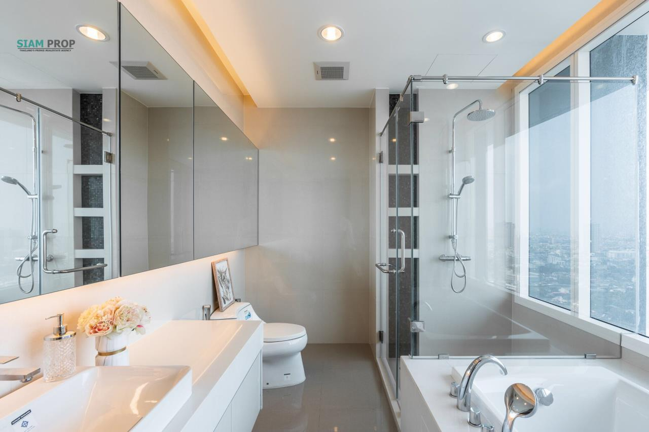 Siam Prop Agency's Menam Residence 3 bedroom  3