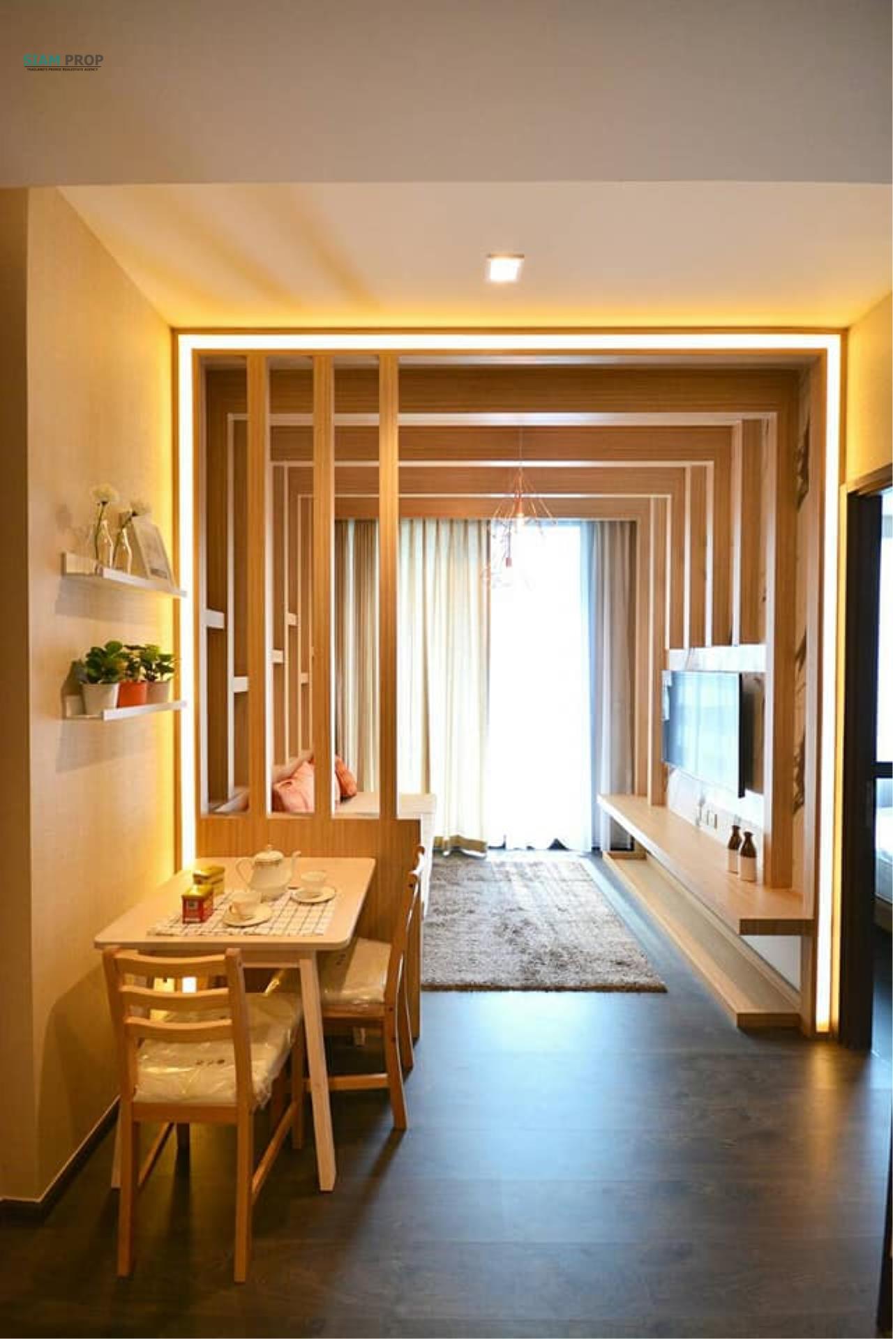 Siam Prop Agency's Condo EDGE Skv.23 for rent near BTS Asoke Station,MRT Sukhumvit Station  1
