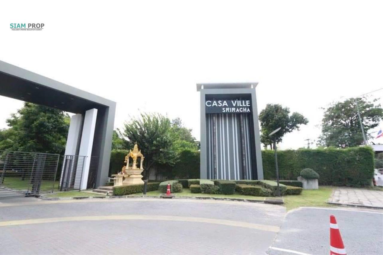 Siam Prop Agency's For Sale Casa Ville Sriracha Single House 18