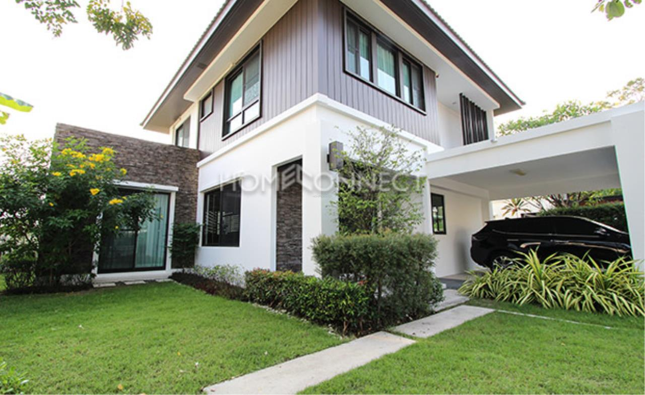 Home Connect Thailand Agency's Moobaan Manthana Bangna House for Rent  2