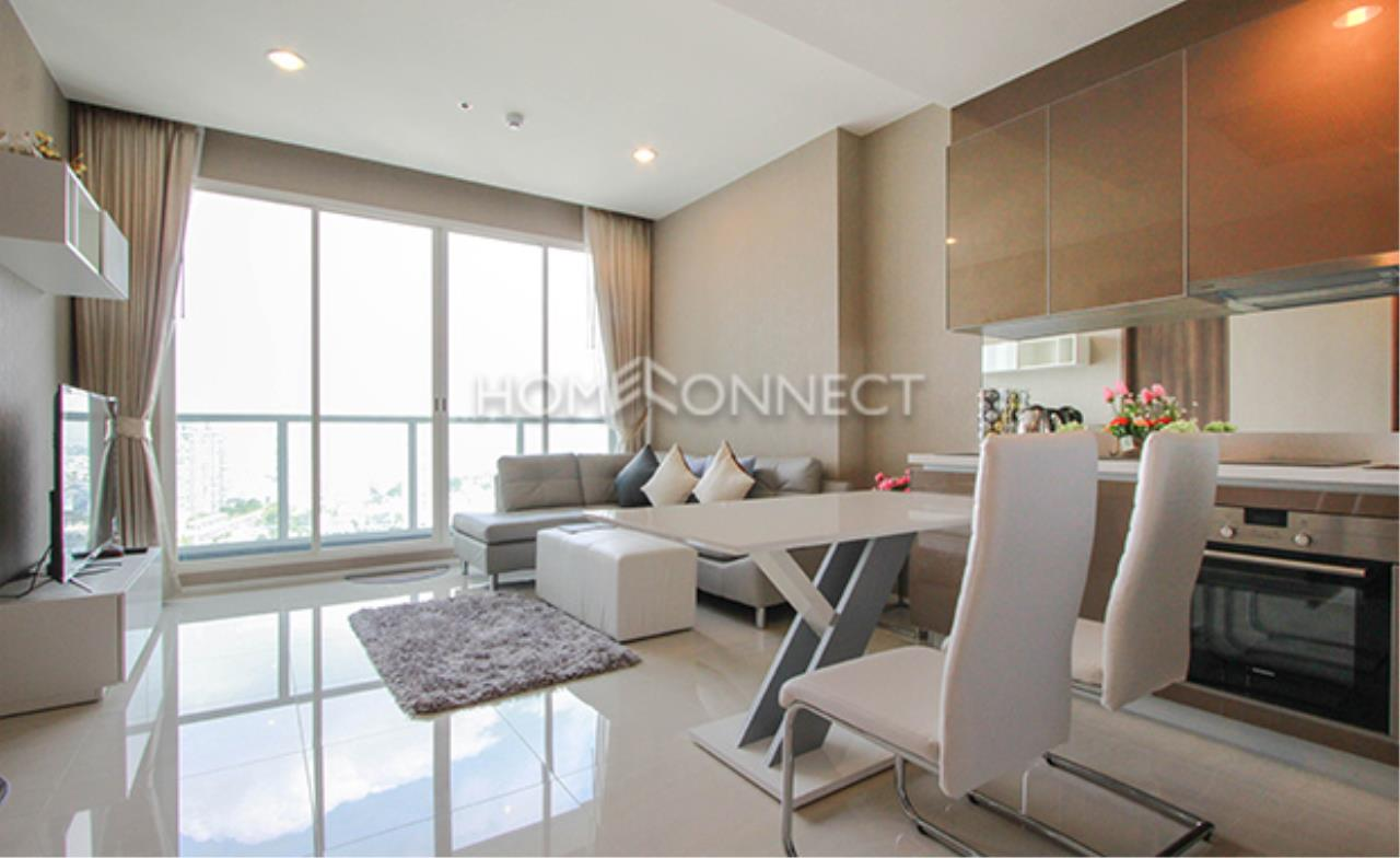 Home Connect Thailand Agency's Menam Residence Condominium for Rent 1