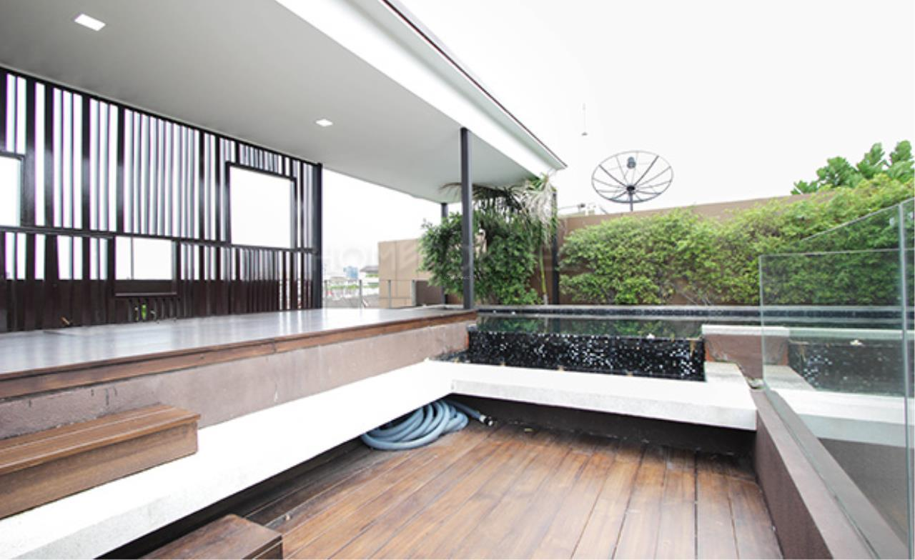 Home Connect Thailand Agency's Baan Lux Sathon Townhouse For Sale/Rent 21