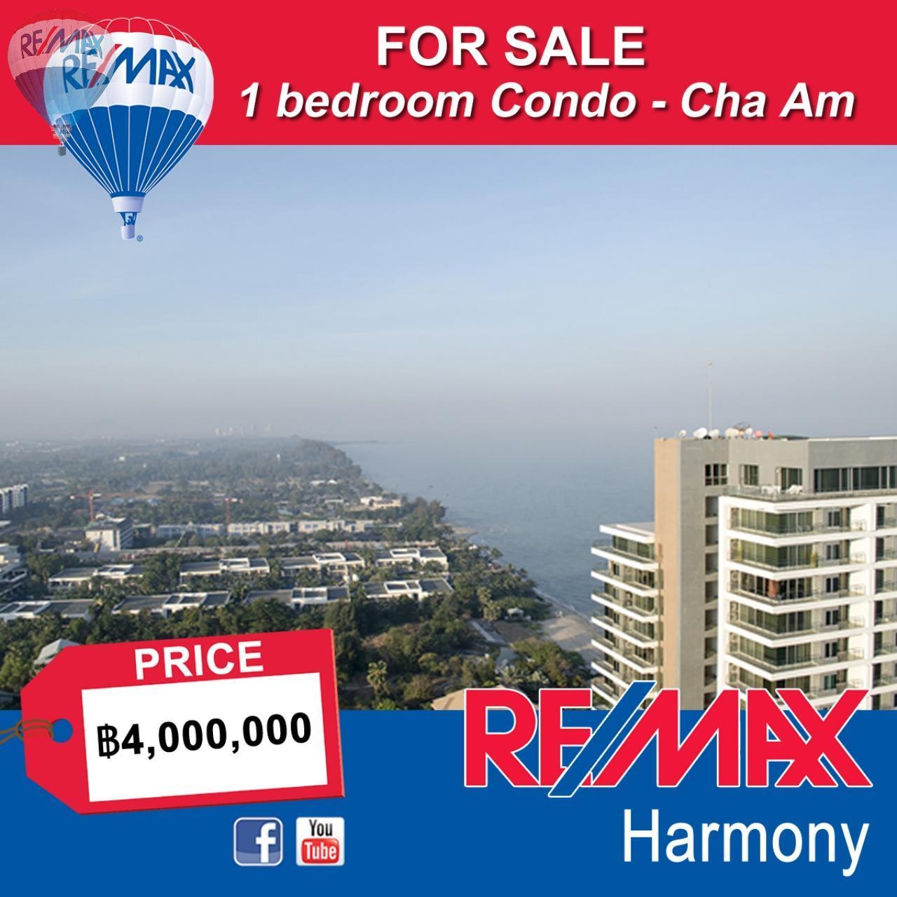 RE/MAX Harmony Agency's Cha Am Sea View Condo 1