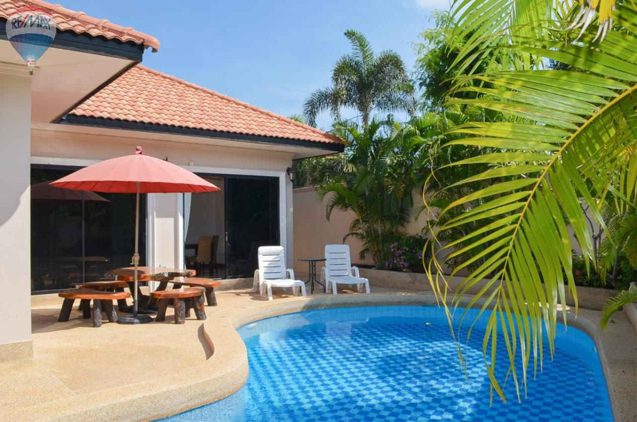 RE/MAX Harmony Agency's Tropical Pool Villa South Hua Hin. FOR RENT  3
