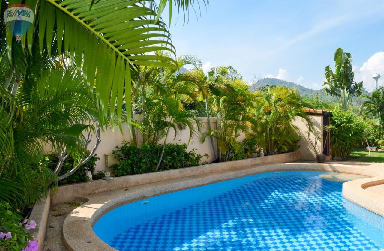 RE/MAX Harmony Agency's Tropical Pool Villa South Hua Hin. FOR RENT  4