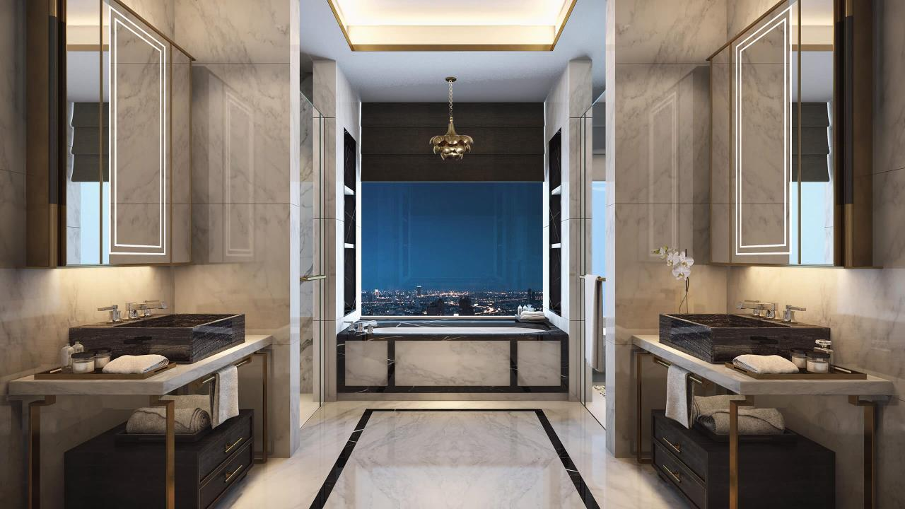 W To Property Co.,Ltd. Agency's For Sale - The Residences at Mandarin Oriental Bangkok / 2-bedrooms / 128 sqm / Floor 30+ (C016740) 1