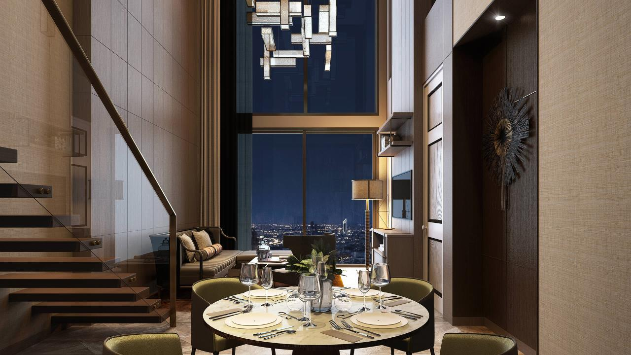 W To Property Co.,Ltd. Agency's For Sale - The Residences at Mandarin Oriental Bangkok / 2-bedrooms / 128 sqm / Floor 30+ (C016740) 10
