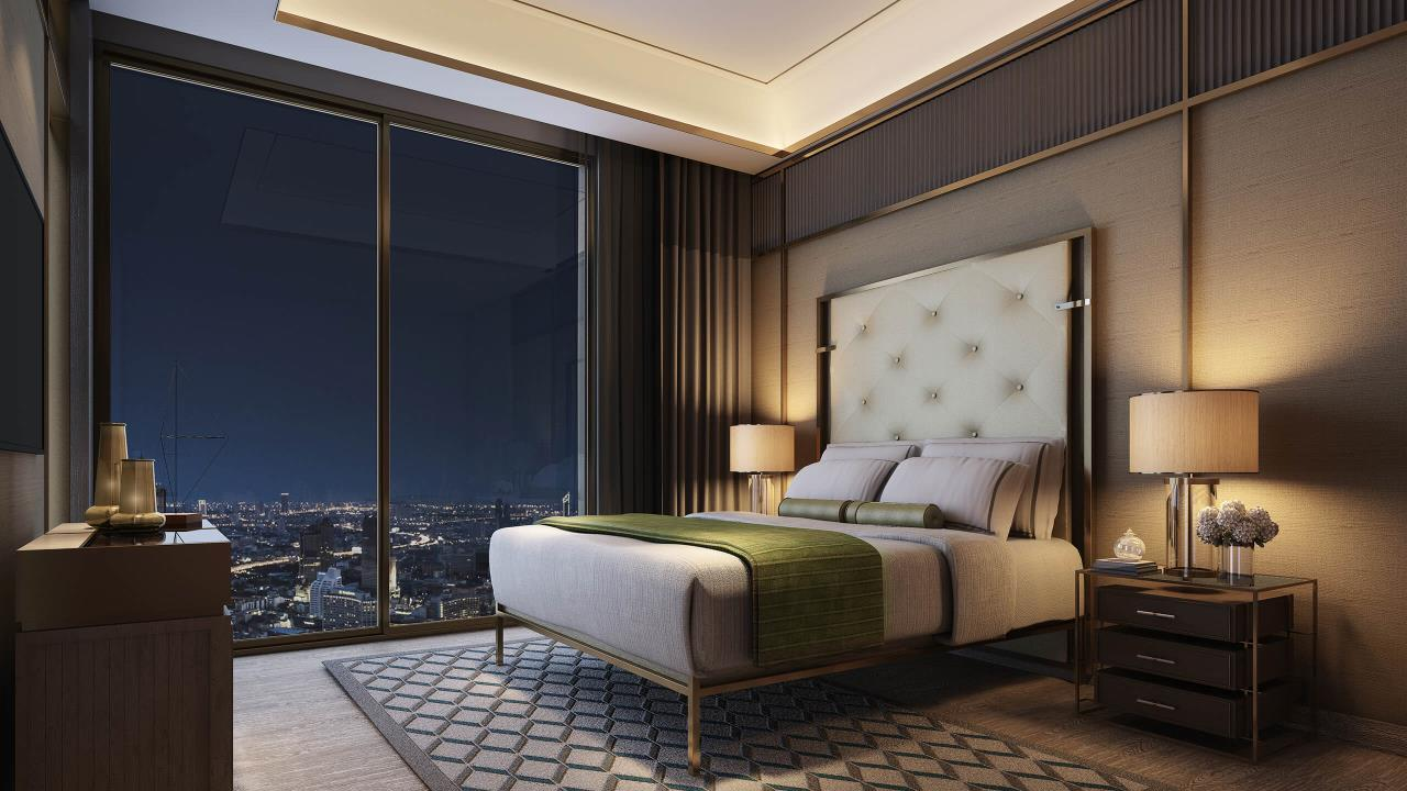 W To Property Co.,Ltd. Agency's For Sale - The Residences at Mandarin Oriental Bangkok / 2-bedrooms / 128 sqm / Floor 30+ (C016740) 11