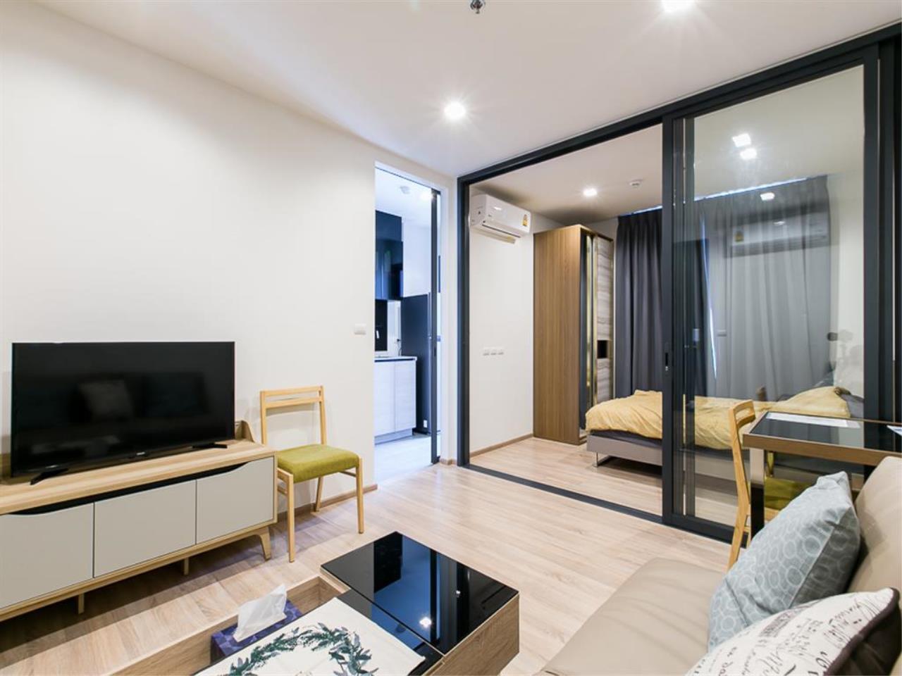 Agent - Ploypapach Sukhotrailuck Agency's The Base Garden Rama9,Unit 575 ,1 Bedroom,29.13 SQM, 29 Floor 4