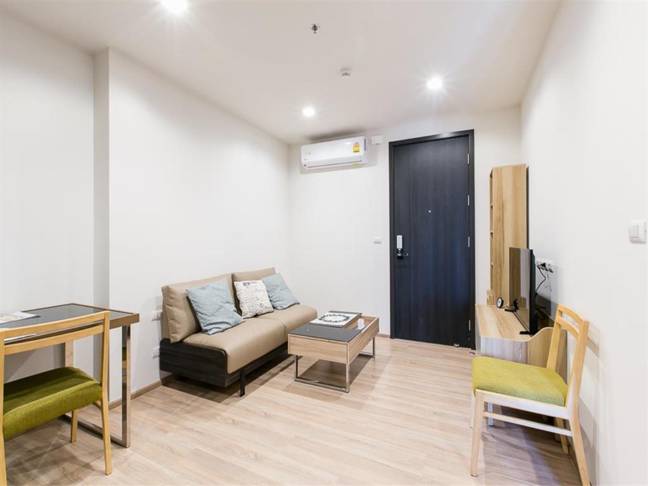 Agent - Ploypapach Sukhotrailuck Agency's The Base Garden Rama9,Unit 575 ,1 Bedroom,29.13 SQM, 29 Floor 1