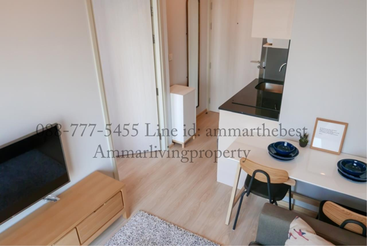 Agent - Ammarlivingproperty Agency's  Rent Noble Revolve Ratchada 1 bedroom 22 fl (ALP-C-180301) 1