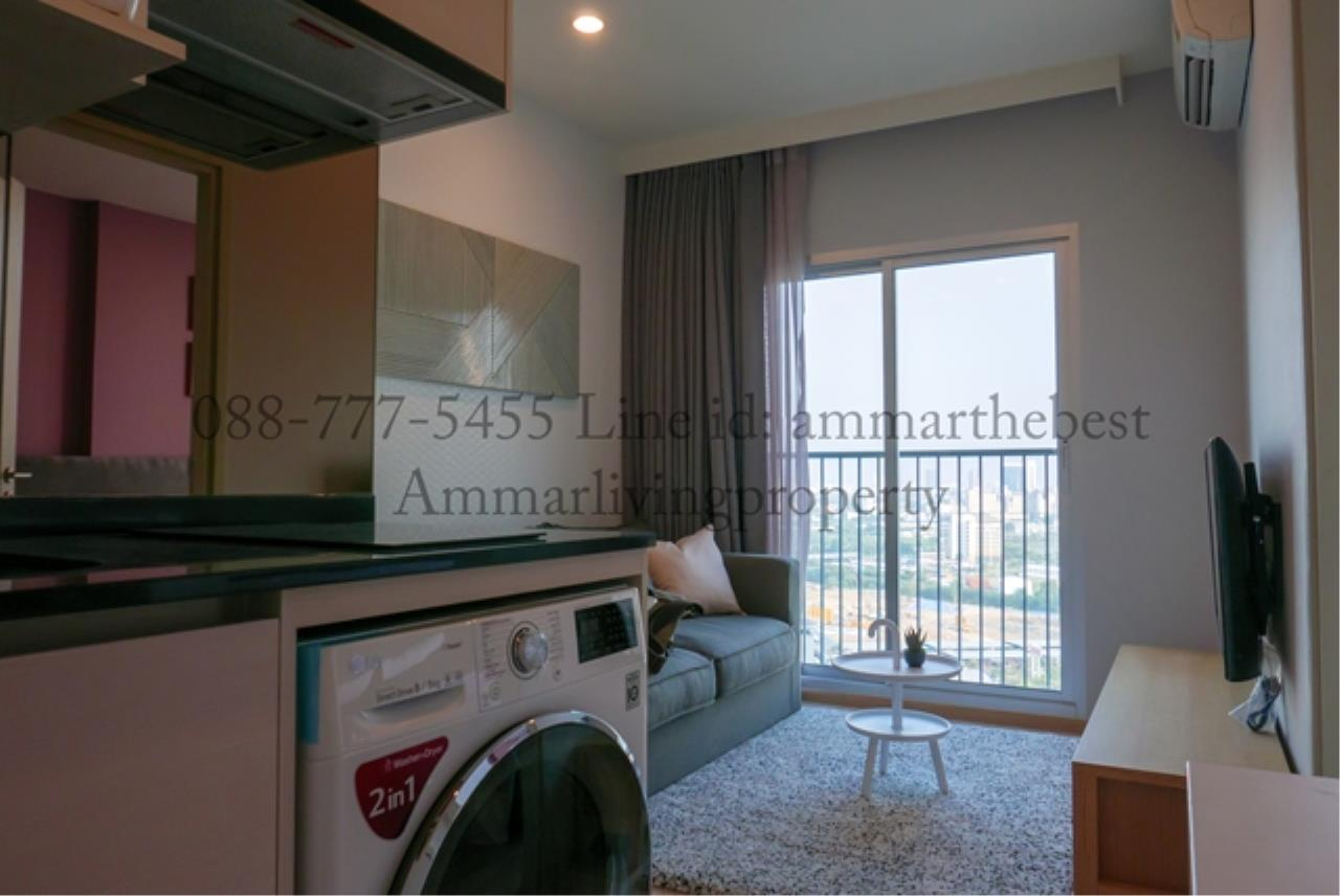 Agent - Ammarlivingproperty Agency's  Rent Noble Revolve Ratchada 1 bedroom 22 fl (ALP-C-180301) 2