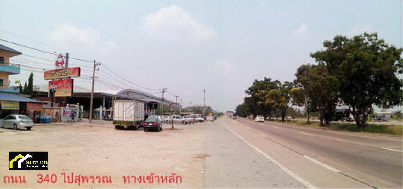 Agent - Ammar Agency's Sale Land 7-1-34 sq.w. in Sai Noi near Taikae Noi Factory and lakgong cana 2