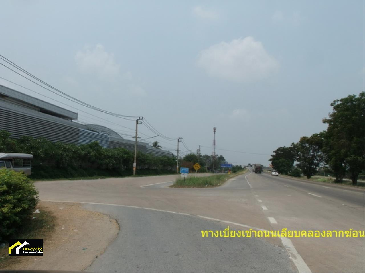 Agent - Ammar Agency's Sale Land 7-1-34 sq.w. in Sai Noi near Taikae Noi Factory and lakgong cana 3