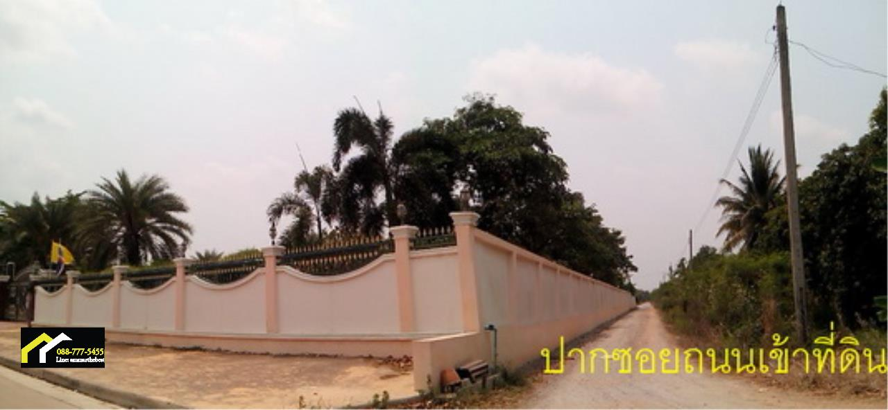 Agent - Ammar Agency's Sale Land 7-1-34 sq.w. in Sai Noi near Taikae Noi Factory and lakgong cana 5