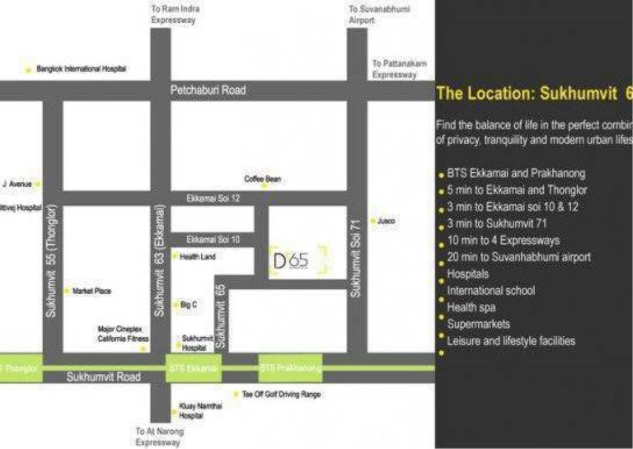 Agent - Sarunya jantanakorn Agency's For Sale!! D65 Condo 2Bedroom - BTS Ekamai 12